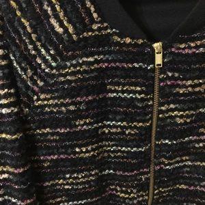 H&M Jackets & Coats - H&M Glitter Bomber